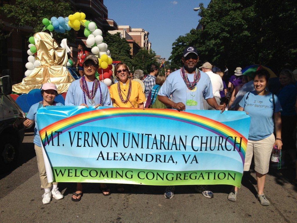 MVUC members march in support of LGBT rights, social justice
